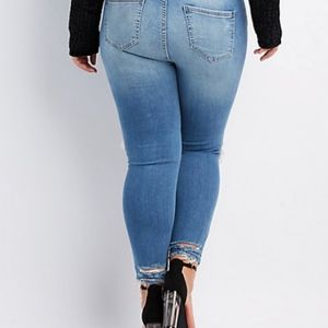 71e38523e22 Charlotte Russe Jeans - plus size Ripped jeans NWT SIZE 18